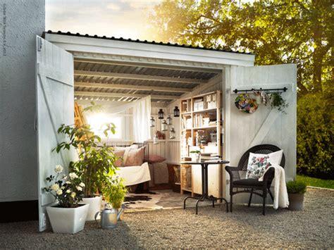 Shed Living Space A Backyard Oasis Poppytalk