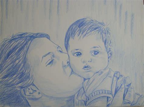 imagenes a lapiz para una madre angeles perteguer pintando a pastel apuntes a lapiz