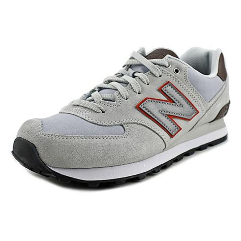 suede sneakers mens new balance ml574 suede ivory sneakers athletic