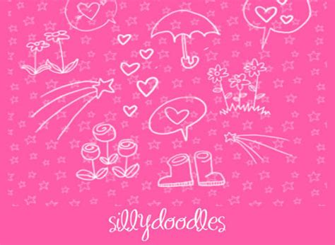 doodlebug brush doodle brushes for photoshop 500 designs