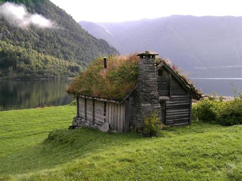 houses in norway grass roof house norway cabin house and spaces