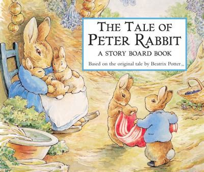 a tale of a books the tale of rabbit story board book by beatrix