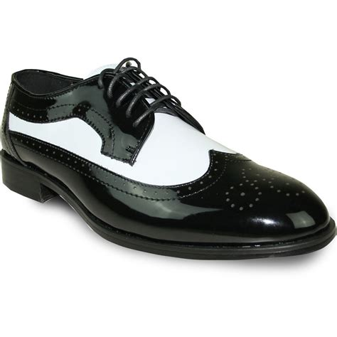 And White Shoes by Wing Tip Black And White Patent Tuxedo Shoes