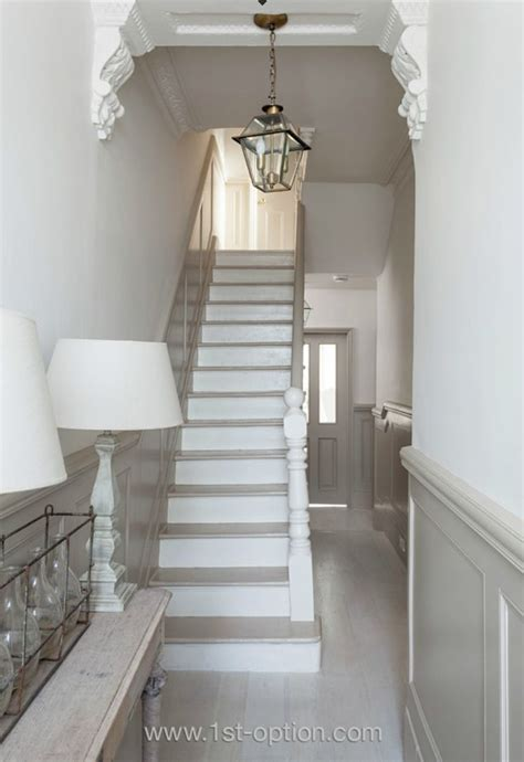 painted wood stairs ideas  pinterest