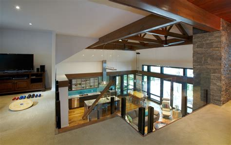 what to do with second living room 8 mile point living room view from 2nd floor landing