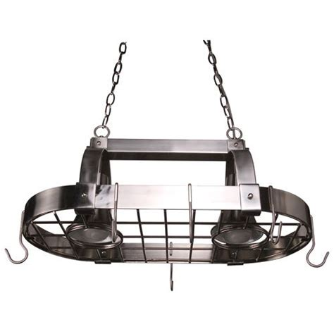 Kitchen Island Pot Rack Lighting Pin By Brunclik On Redo