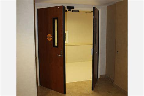 double swing fire doors fire door operators nabco entrances