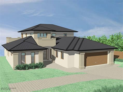 modern house hip roof modern house