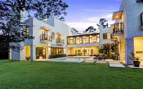 $4.5 Million Contemporary Mansion In Houston, TX   Homes