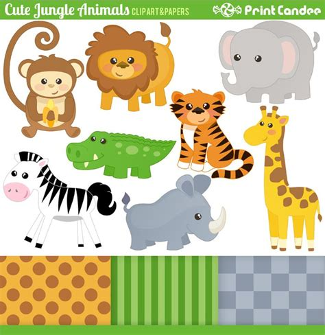 printable jungle animal images 46 best images about jungle theme party on pinterest