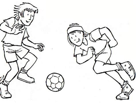 dibujos niños jugando futbol para colorear im 225 genes para pintar de futbol para el d 237 a del futbolista