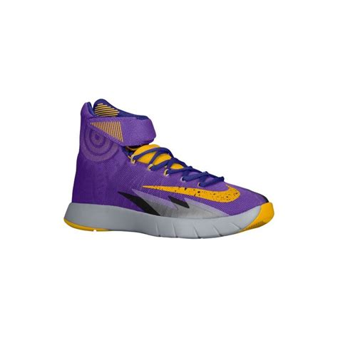 purple gold basketball shoes purple and gold nike shoes nike zoom hyper rev s
