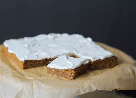 maple frosting pumpkin bars maple frosting comfy belly