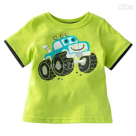 2733 Boys Tshirt boys tees shirts t shirts baby tshirt tank tops sleeve cotton cars blouses