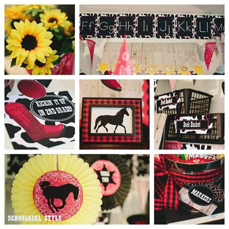 Western Themed Giveaways - wild wild western classroom theme schoolgirlstyle