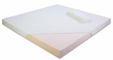 Visco Memory Foam Mattress Topper visco elastic memory foam mattress topper king size
