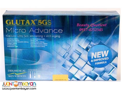 Glutax Inject glutax 5gs micro advance injectable glutathione iv