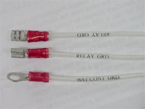 electrical wire labels jeff shultz s sonex 0604 web site electrical system