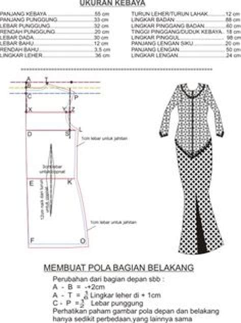 pola membuat baju boneka barbie kebaya on pinterest kebaya hijabs and hijab styles