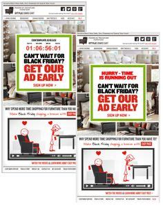 American Furniture Ad by 1000 Images About Emails On Countdown