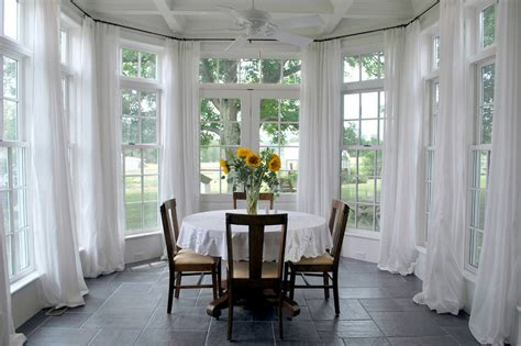 sunroom curtain ideas sunroom window treatment ideas large window treatments