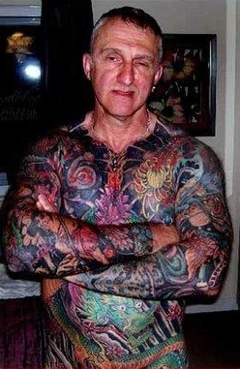 full body tattoo guy this is what your tatt will look like in 40 years 14