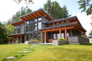 Contemporary House Plans With Walkout Basement Capturing The Of Its Location Contemporary Exterior Vancouver By Island