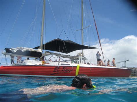 catamaran sailing cruisers el tigre catamaran foto de el tigre catamaran sailing