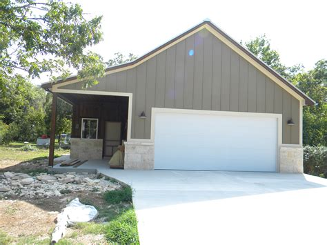 flush steel garage door  barn  faux paint
