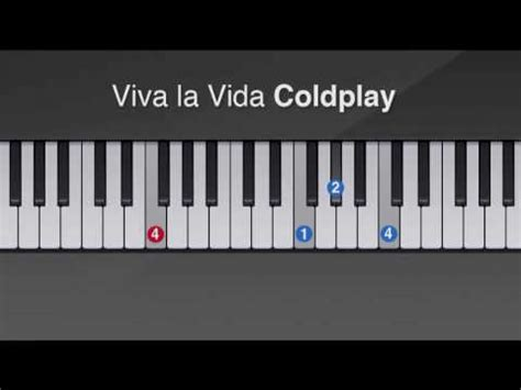 tutorial piano viva la vida coldplay full download piano viva la vida coldplay sheet music