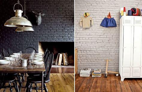 Briques Peintes En Blanc by 17 Meilleures Id 233 Es 224 Propos De Murs En Briques Peints Sur