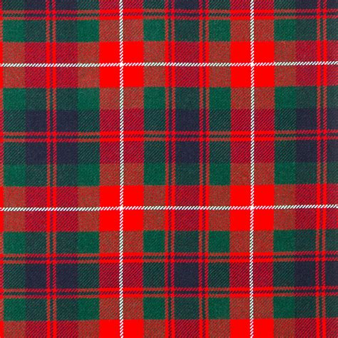 fraser of lovat modern heavy weight tartan fabric