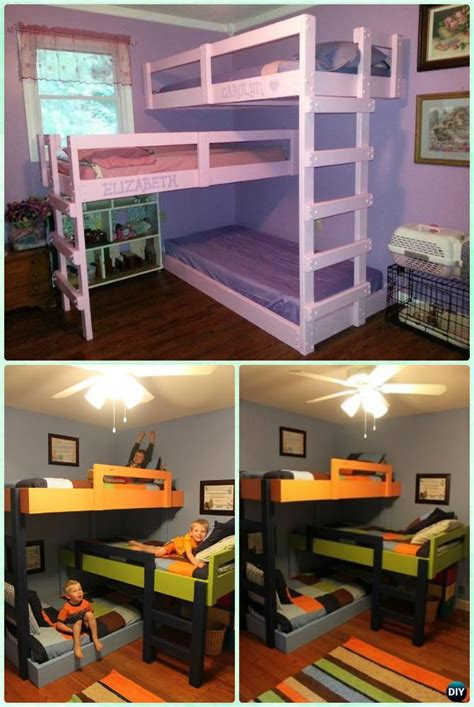 cool bunk bed plans best 25 bunk bed fort ideas on cool beds