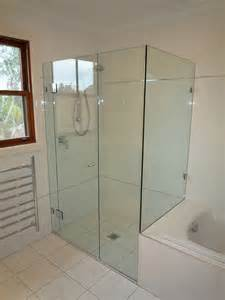 custom cut frameless shower screens sydney palmers glass frameless showerscreens shower screens stegbar