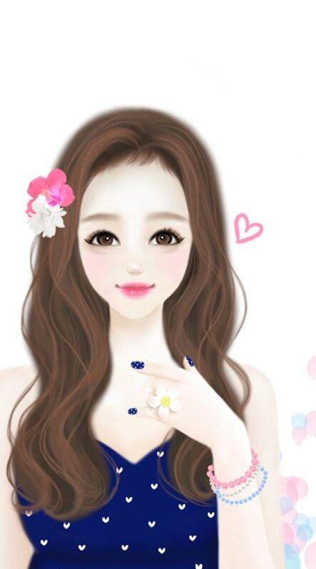 girly doll wallpaper beautiful girls pinterest girl drawings drawing