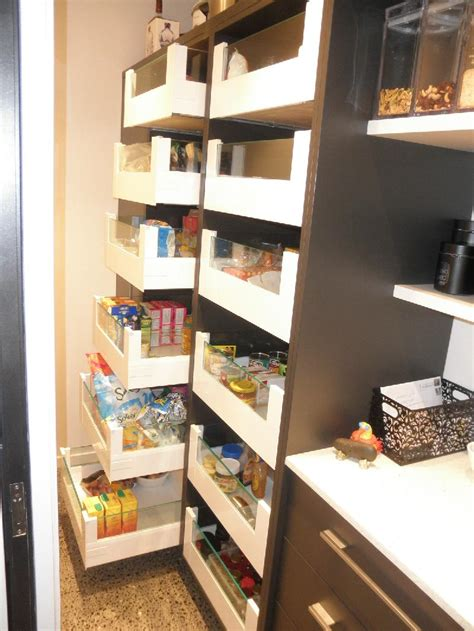 Blum Pantry by Objex Cabinet Makers Ltd Pantry Drawers