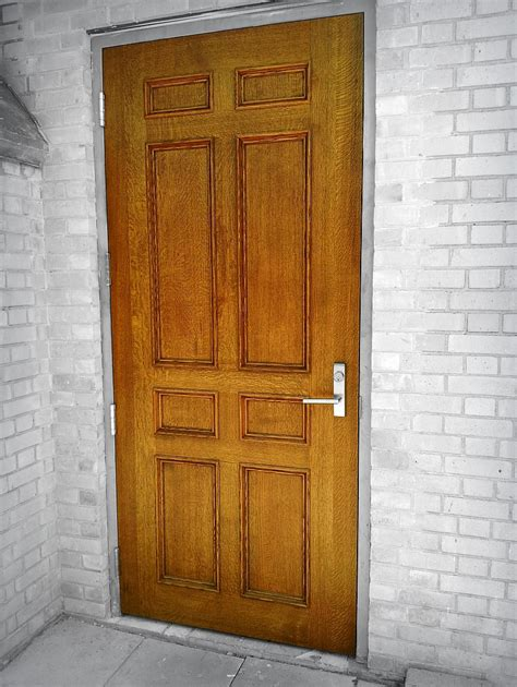 Wood For Exterior Doors Solid Wood Exterior Door Wills 235 Ns Architectural Millwork