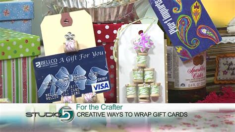 Creative Way To Wrap A Gift Card - studio 5 creative ways to wrap gift cards and cash