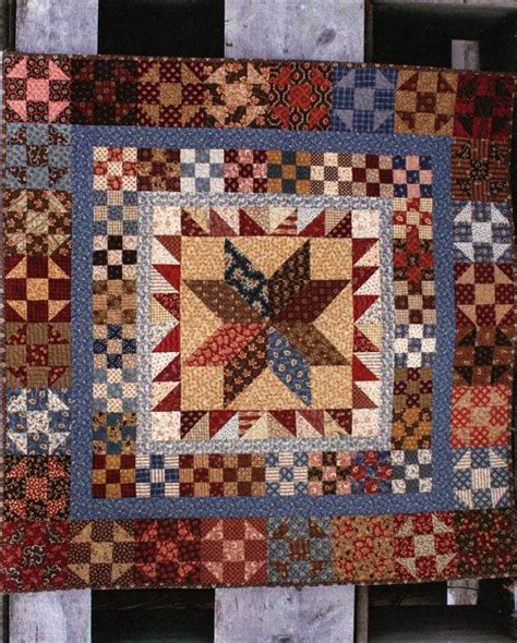 Country Primitive Quilt Patterns by Primitive Quilt Folk Pattern President S Pride By