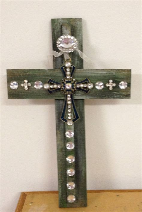 Handmade Wooden Cross - pin by beth boyd on cross ties handmade wooden crosses