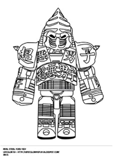 noisy boy coloring page real steel noisy boy and other fantasy coloring pages