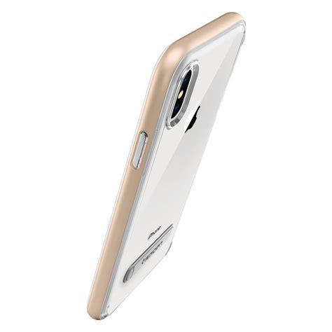 Spigen Iphone X Hybrid 057cs22145 Chagne Gold Spigen 174 Hybrid 057cs22145 Iphone X
