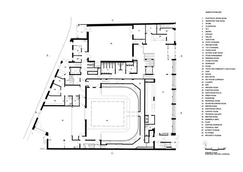 theatre floor plan gallery of everyman theatre haworth tompkins 17