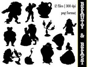 and beast silhouette the beast silhouettes disney by