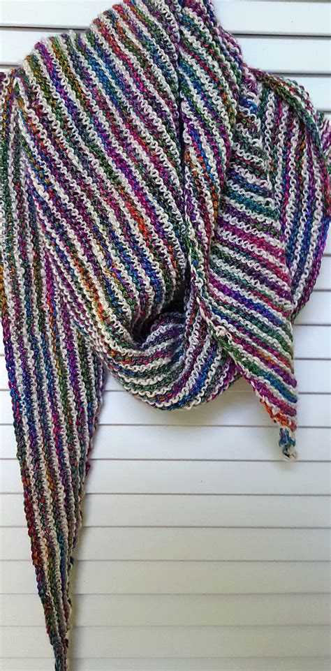 beginner knit shawl pattern easy shawl knitting patterns in the loop knitting