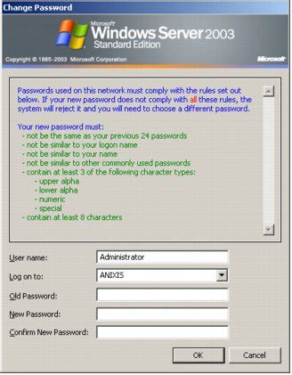 password policy template password policy enforcer customizing ppc messages