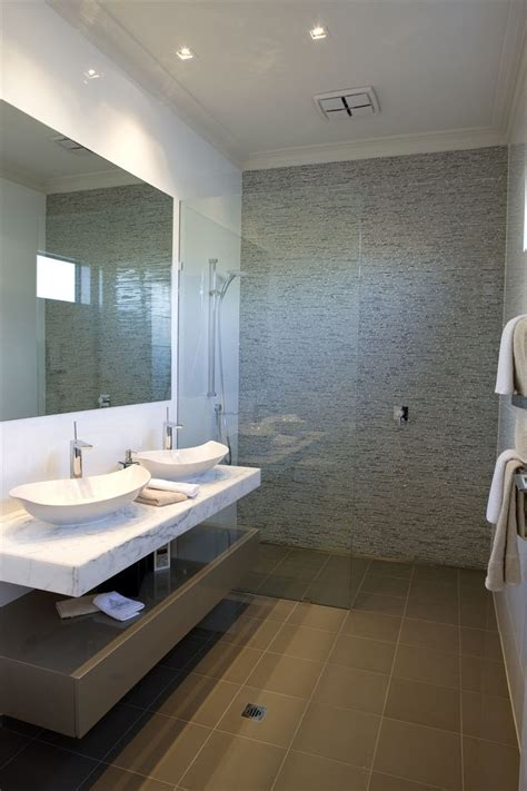 Bathroom Feature Wall Ideas by Bathroom Tile Feature Wall Idea