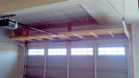 Overhead Garage Door Storage Diy Garage Storage