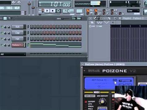 tutorial fl studio demo fl studio 8 9 xxl tutorial plug ins poizone demo youtube