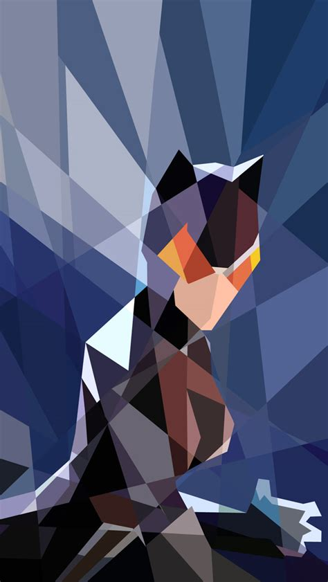 catwoman iphone wallpaper blocky catwoman iphone 5 wallpaper 640x1136